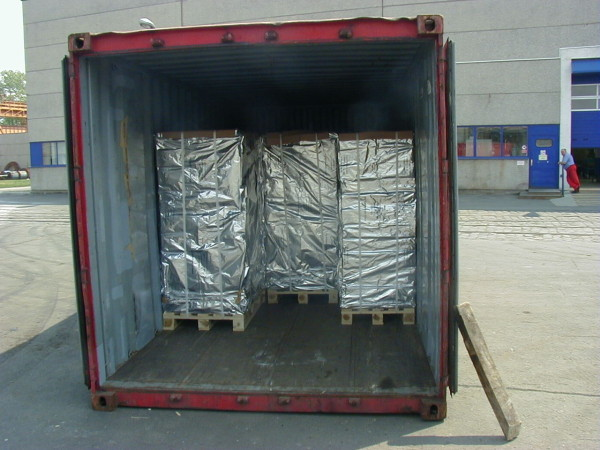 TRANSPORT IN CONTAINER